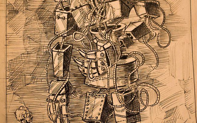 Michał Kiełbasiński, Rysunek